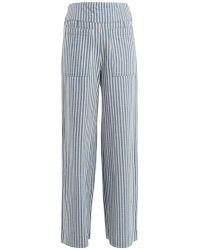 Ace & Jig - Davis Striped Wide-leg Trousers - Lyst
