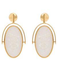 Moon Eye oval earrings Ellery hjVMAEV4