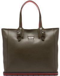 Christian Louboutin - Kabiker Leather Tote Bag - Lyst