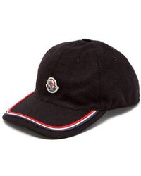 Moncler - Logo-embroidered Cap - Lyst