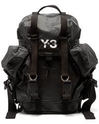 212e1cf619 Y-3 - Xs Utility Logo Print Backpack - Lyst
