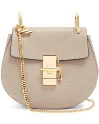 Chloé - Drew Mini Leather Cross Body Bag - Lyst