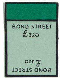 Olympia Le-Tan - Bond Street Board Game-embroidered Clutch - Lyst