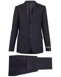 Gucci - Pin Dot-jacquard Wool Suit - Lyst