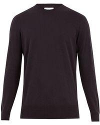 Raey - Crew-neck Cotton-knit Jumper - Lyst