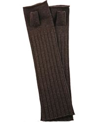 Leon Max - Fingerless Gloves - Lyst
