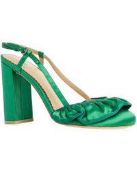 Leon Max - Sedate: Satin Wide-heels - Lyst