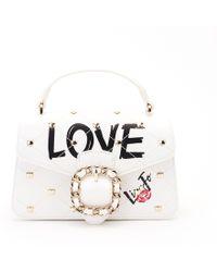 Liu Jo White Leather Handbag
