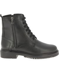 Nicholas - Black Leather Ankle Boots - Lyst