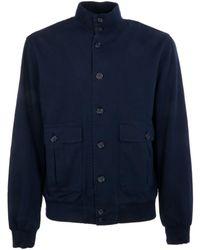 Brooksfield - Blue Cotton Outerwear Jacket - Lyst