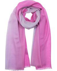 Marina D'este - Pink Cashmere Foulard - Lyst