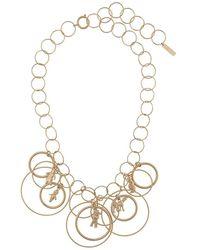 Marni Gold Metal Necklace - Metallic
