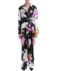Off-White c/o Virgil Abloh - Multicolour Silk Jumpsuit - Lyst