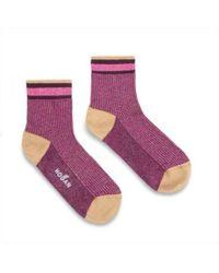 Hogan - Pink Viscose Socks - Lyst