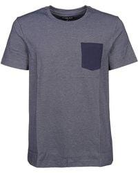 Michael Kors - Blue Cotton T-shirt - Lyst