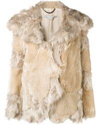 Stella McCartney Beige Acrylic Coat