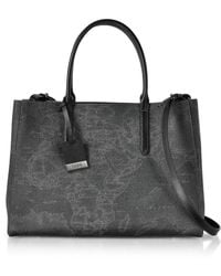 Alviero Martini 1A Classe - Black Leather Handbag - Lyst