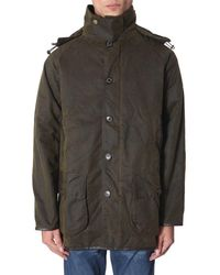 Barbour - Green Cotton Outerwear Jacket - Lyst