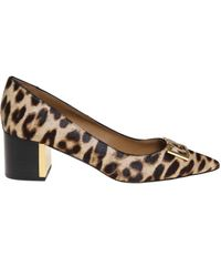 Tory Burch - Beige Leather Pumps - Lyst