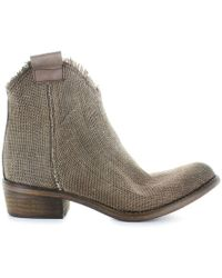 44f478aad0b UGG Lo Pro Marrakech Canvas Boots in Black - Lyst