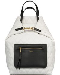 Givenchy - White Polyurethane Backpack - Lyst