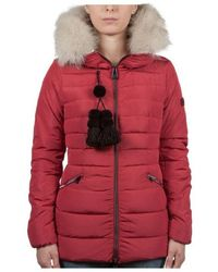 Peuterey - Red Polyester Outerwear Jacket - Lyst
