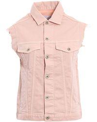 Dondup - Pink Cotton Vest - Lyst
