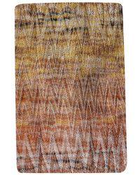 Missoni Multicolour Viscose Bow Tie - Brown