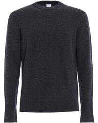 Aspesi Grey Wool Jumper - Gray