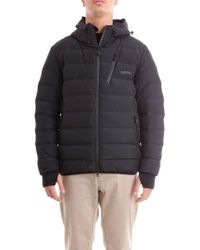 Mauro Grifoni - Black Polyester Down Jacket - Lyst