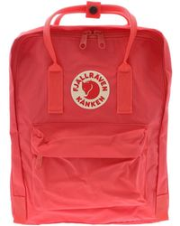 Fjällräven Kånken - Pink Synthetic Fibres Backpack - Lyst