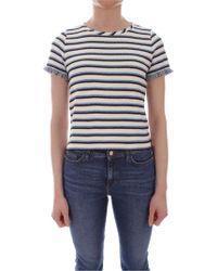 iBlues White Cotton T-shirt