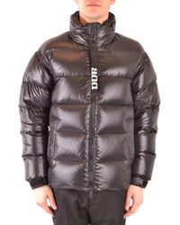 Add Black Polyester Down Jacket
