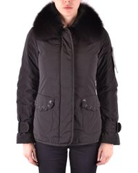Peuterey - Black Polyester Outerwear Jacket - Lyst