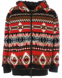 d7e9f80ac53f MSGM - Multicolour Polyester Outerwear Jacket - Lyst