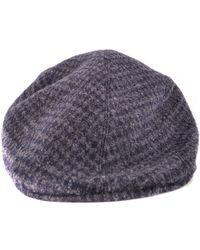 Altea - Grey Wool Hat - Lyst