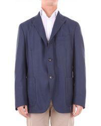Boglioli - Blue Wool Blazer - Lyst