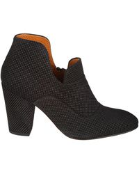 Chie Mihara - Black Leather Ankle Boots - Lyst