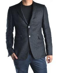 CoSTUME NATIONAL - Blue Wool Blazer - Lyst
