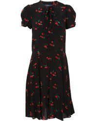 90d0c12b7cd Ralph Lauren Lauren Chicky Dress in Red - Lyst