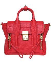 3.1 Phillip Lim Red Leather Handbag