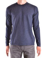 Armani Jeans - Blue Viscose Sweater - Lyst