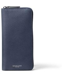 MICHAEL Michael Kors - Blue Leather Wallet - Lyst