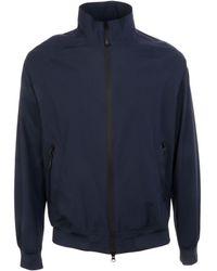 Henri Lloyd Blue Polyester Outerwear Jacket