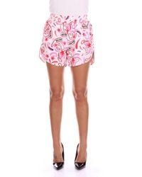 Dondup - Pink Cotton Shorts - Lyst