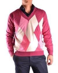 Ballantyne - Red Cotton Sweater - Lyst