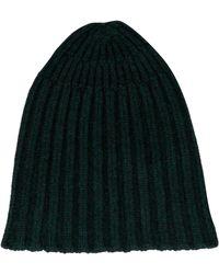 34c602ce Roberto Collina - Green Wool Hat - Lyst