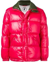 Save The Duck Red Polyamide Down Jacket