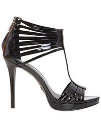 0d3e269982ee Lyst - MICHAEL Michael Kors Kitten Heel Sandals in Black