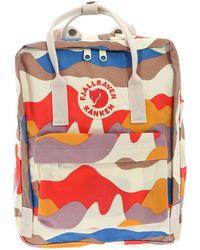 Fjällräven Kånken - Multicolor Polyester Backpack - Lyst